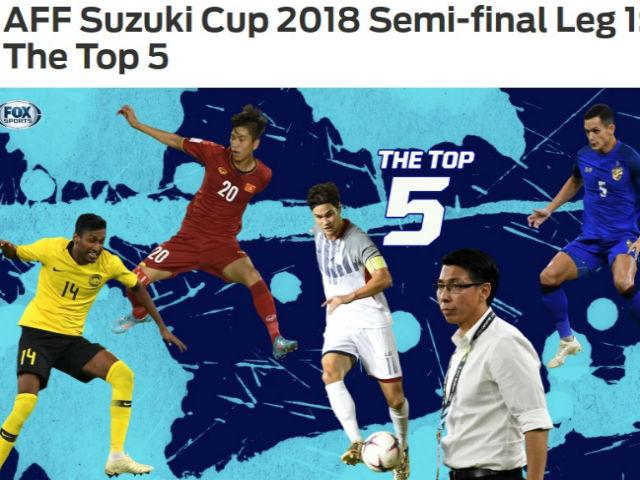 SAO sáng nhất bán kết AFF Cup: Báo châu Á mê mẩn Phan Văn Đức