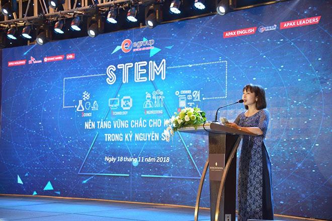"""Hội thảo STEM Quốc tế mở ra một """"thời kỳ mới"""" cho giáo dục STEM tại Việt Nam - 1"""