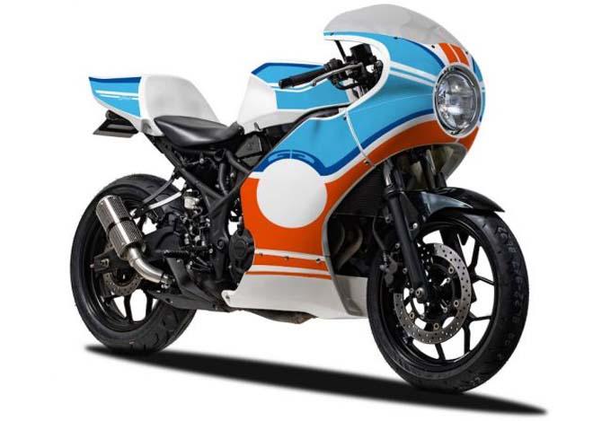 Yamaha YZF-R25 bản độ rực rỡ sắc cầu vồng, hút fan cuồng - 1
