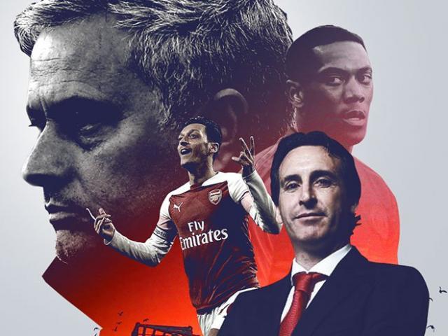 """Đại chiến MU - Arsenal: Mourinho run rẩy giữ ghế, """"Pháo thủ"""" lo mất SAO"""