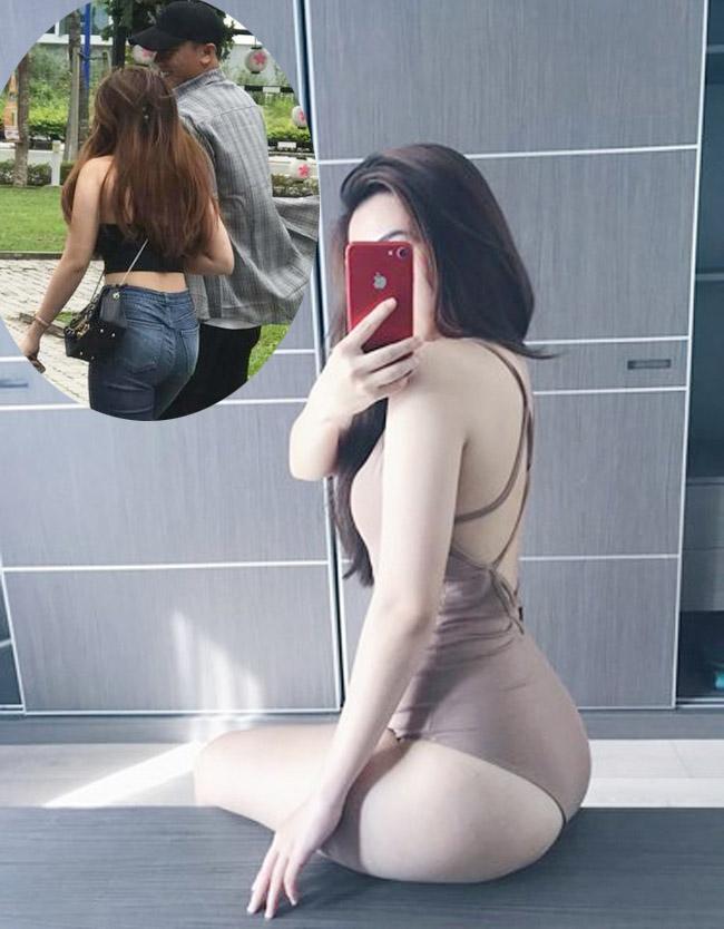 Bạn gái tin đồn của thủ môn Bùi Tiến Dũng là Lê Thị Thanh, biệt danh Thanh Mèo. Cô sở hữu thân hình gợi cảm nên từng được mời làm người mẫu quảng cáo.