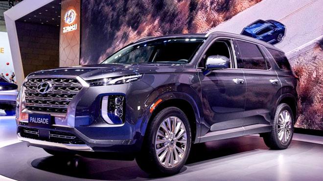 Ảnh thực tế Palisade 2019 - Mẫu SUV lớn nhất của Hyundai - 1