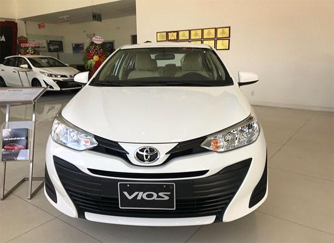 Giá xe Toyota Vios 2019 cập nhật mới nhất- Vios E hỗ trợ 15 triệu tiền mặt - 1