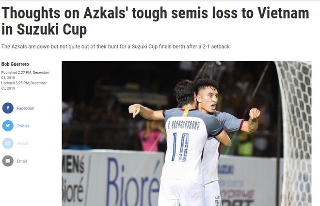 Báo Philippines: Việt Nam mạnh nhất AFF Cup, kinh ngạc thầy trò Park Hang Seo - 1