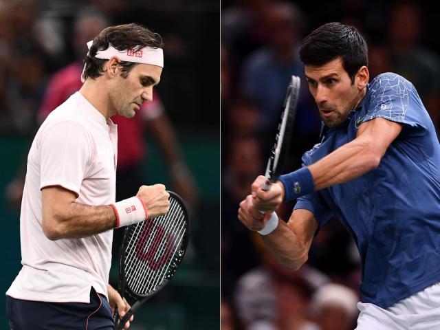 """""""Võ đài"""" tennis 2018: Đại chiến Federer- Djokovic, """"Vua đất nện"""" Nadal bị hạ bệ"""