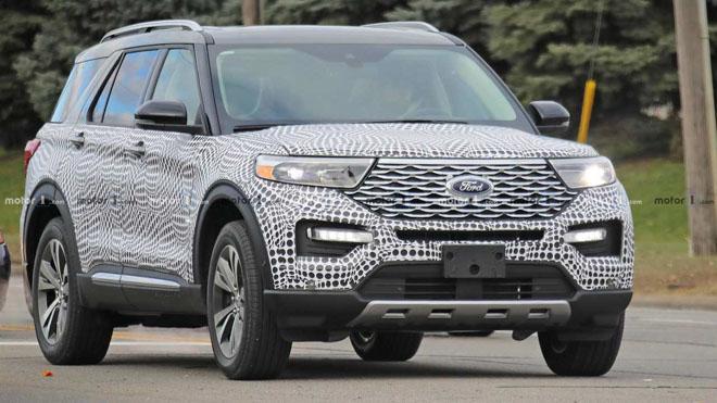 Ford Explorer 2020 lộ ảnh chạy thử tại Mỹ - 1