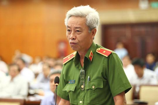 Thiếu tướng Phan Anh Minh: Chỉ cần ngửi chất bẩn tạt vào nhà con nợ là ói mửa - 1