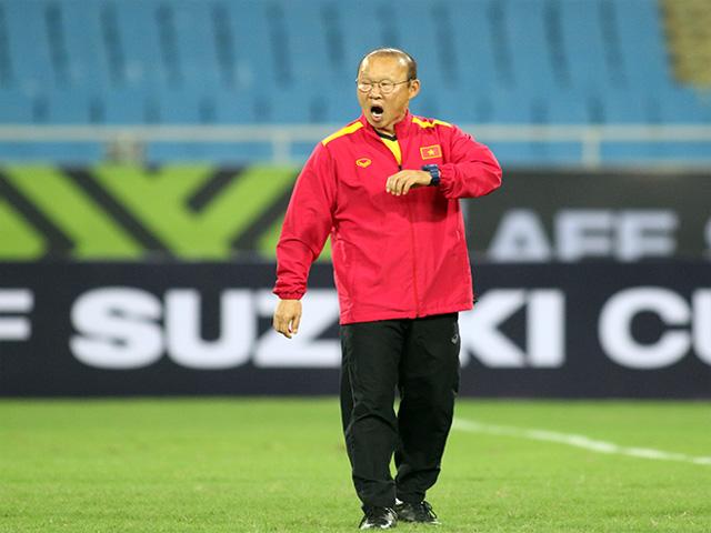 HLV Park Hang Seo chờ tái đấu Philippines đến...buồn ngủ