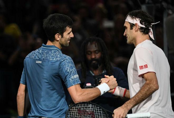"""Đấu trường tennis 2018: Đại chiến Federer- Djokovic, """"Vua đất nện"""" Nadal bị hạ bệ - 1"""