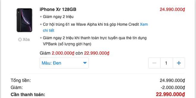 iPhone chính hãng tiếp tục bán dưới giá niêm yết - 1