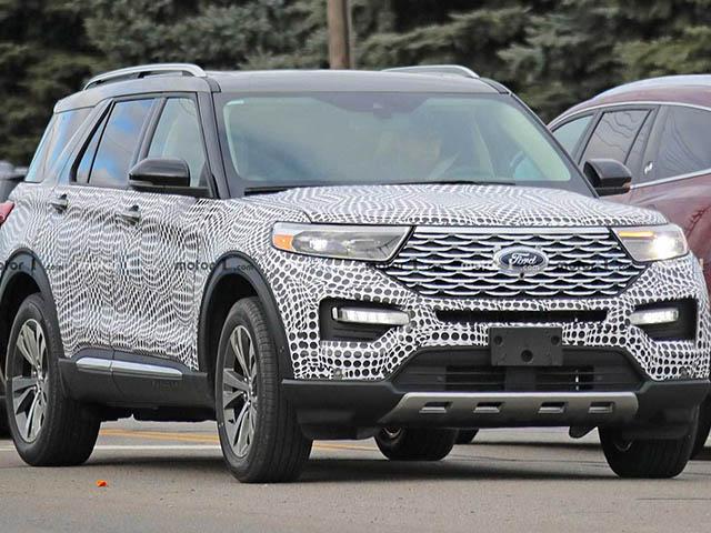 Ford Explorer 2020 lộ ảnh chạy thử tại Mỹ