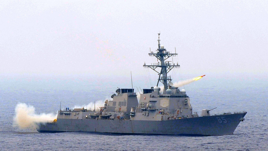 Tàu khu trục Mỹ áp sát căn cứ Hạm đội Thái Bình Dương Nga ở Viễn Đông - 1