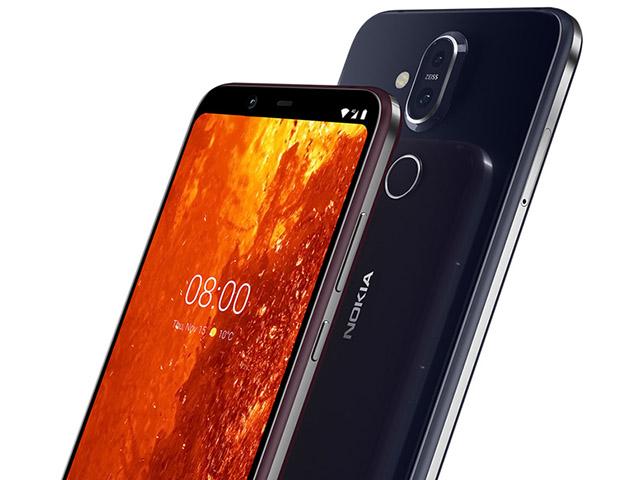 Nokia 8.1 trình làng, màn hình tai thỏ giống iPhone X, giá 10,5 triệu đồng