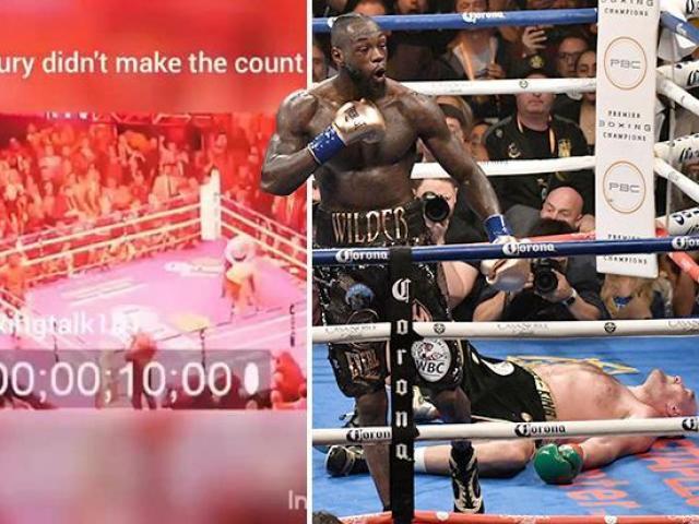 """Cú sốc boxing Wilder đấu Fury: """"Gã hề"""" gục quá 10 giây thắng thua đã rõ"""