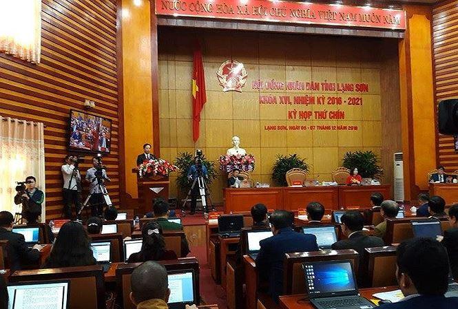 Miễn nhiệm Phó chủ tịch UBND tỉnh Lạng Sơn - 1