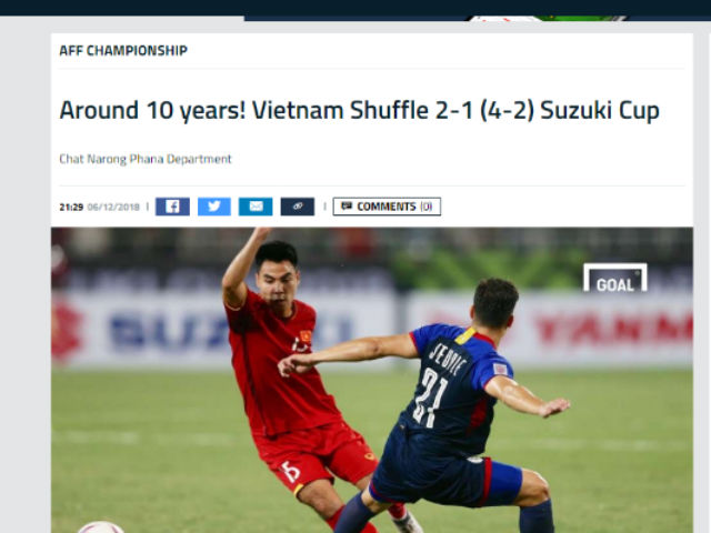 Việt Nam hạ Philippines vào chung kết AFF Cup: Báo châu Á sửng sốt chiến tích 10 năm