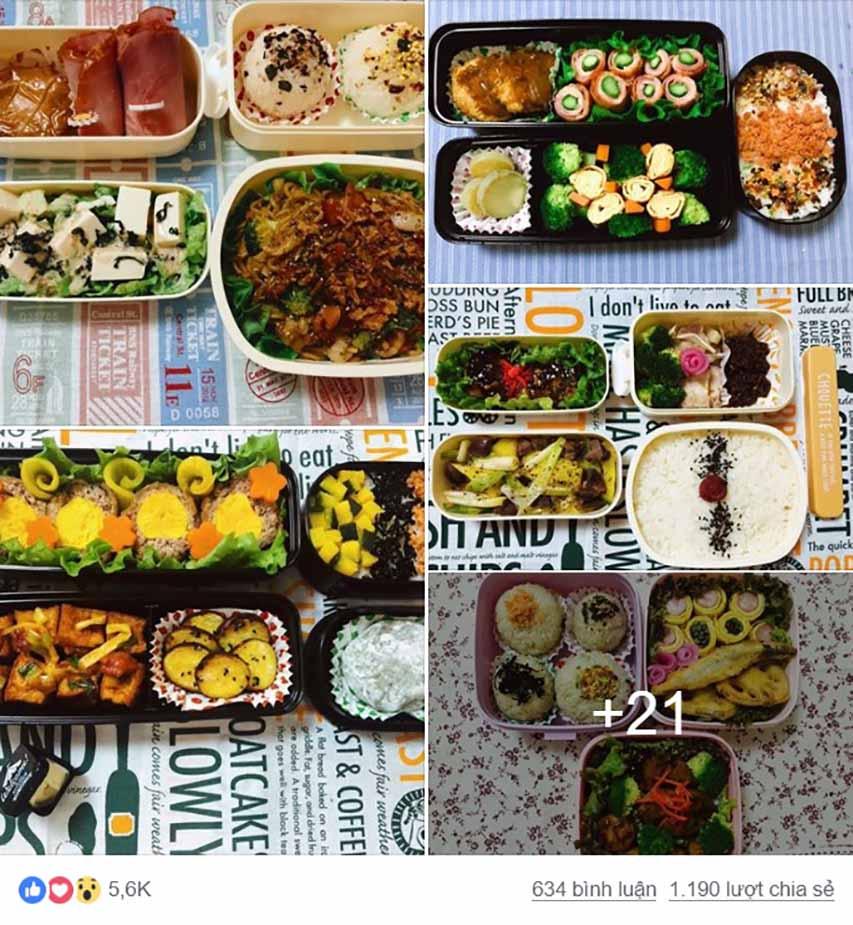 Cô vợ trẻ ở Nhật đều đặn mỗi tháng nấu 25 hộp cơm cho chồng - 1