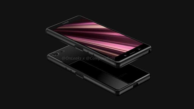 Lộ diện Sony Xperia XZ4 Compact đa chiều - 1