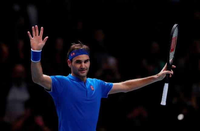 Kinh ngạc: Federer 39 tuổi vẫn đè Djokovic, làm vua tennis - 1