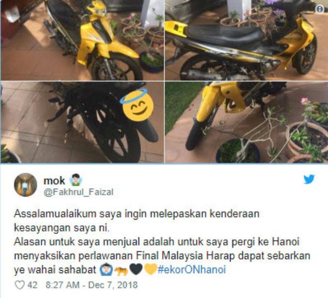 """Malaysia đấu Việt Nam AFF Cup: Fan cuồng bán xe, mơ """"bay"""" tới Mỹ Đình - 1"""