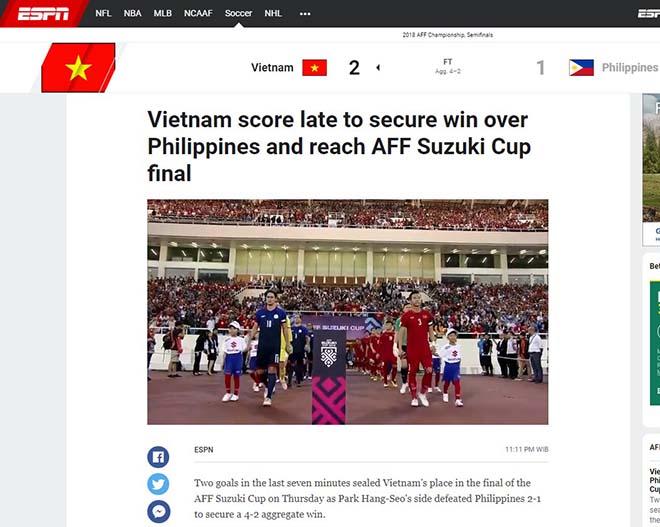 Việt Nam vào chung kết AFF Cup: Báo Anh khen ngợi bản lĩnh thầy trò Park Hang Seo - 1