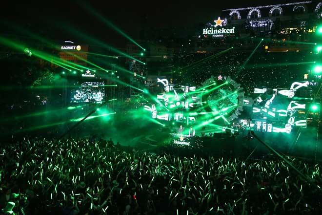"""Đại tiệc Heineken countdown party """"chưa từng có"""" tại nơi """"chưa từng thấy"""" - 1"""