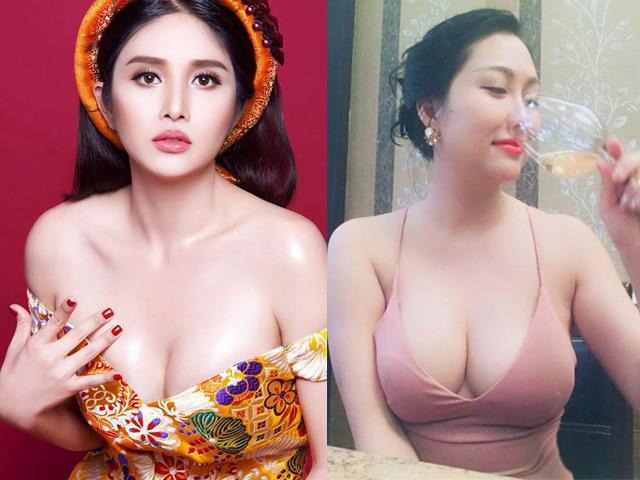 Sau ly hôn, vợ cũ Phan Thanh Bình, Phi Thanh Vân nâng ngực 'khủng'