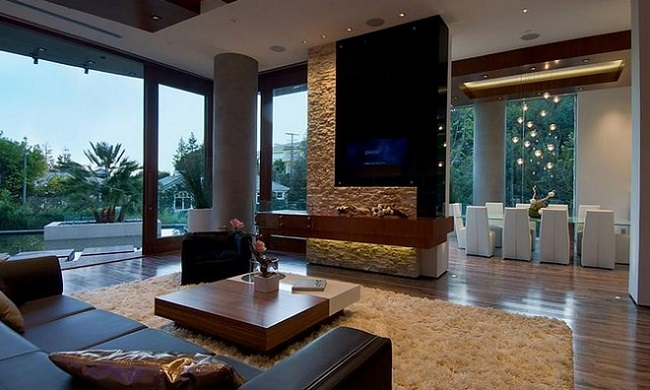 Căn nhà được thiết kế với không gian thoáng đãng