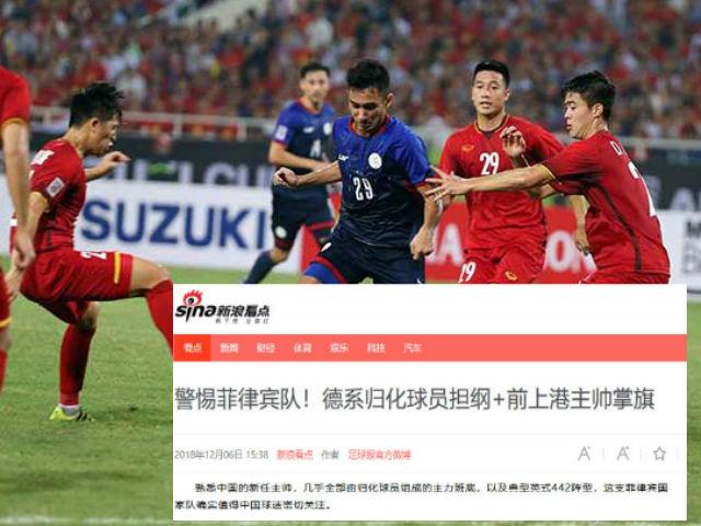 Việt Nam hạ Philippines có siêu HLV ở AFF Cup: Báo Trung Quốc bất ngờ