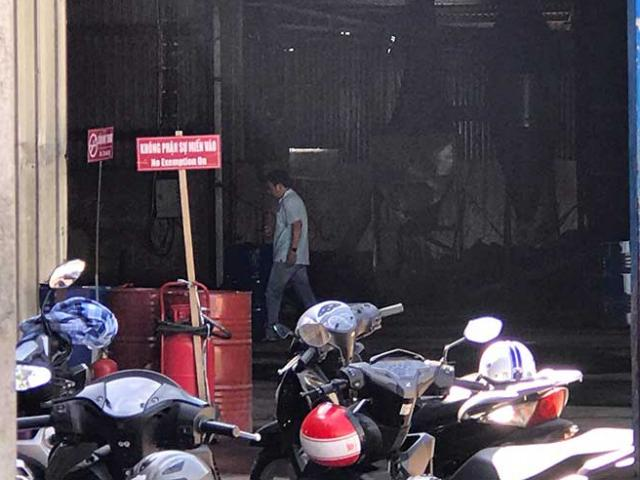 The basis for expressing gas in Saigon fire, 2 people broke up