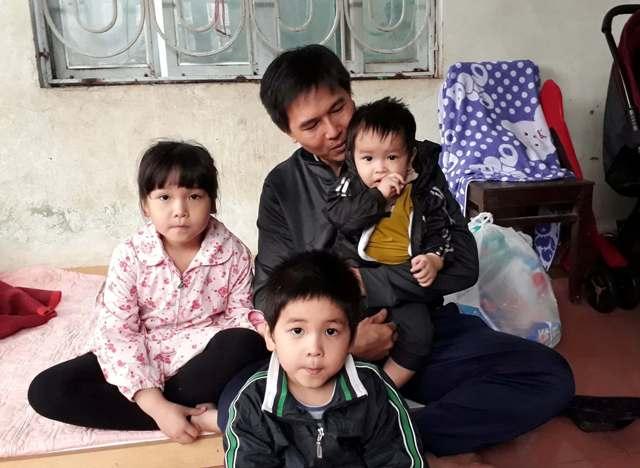 Hai mẹ con bị nước cuốn trôi: Tiếng khóc đêm của ba đứa trẻ - 1