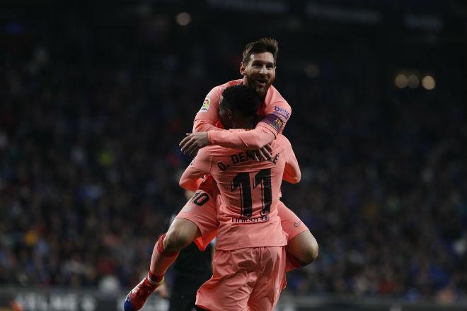 """Espanyol - Barcelona: Messi rực rỡ """"nổ"""" cú đúp siêu phẩm - 1"""