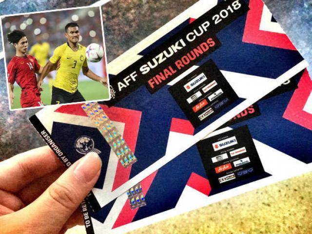 Trực tiếp mua vé trận Việt Nam - Malaysia 10/12: Xuất hiện website bán vé giả