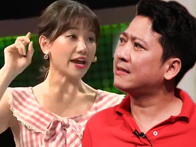Lý do khiến Hari Won phát sinh mâu thuẫn với Trường Giang trên truyền hình