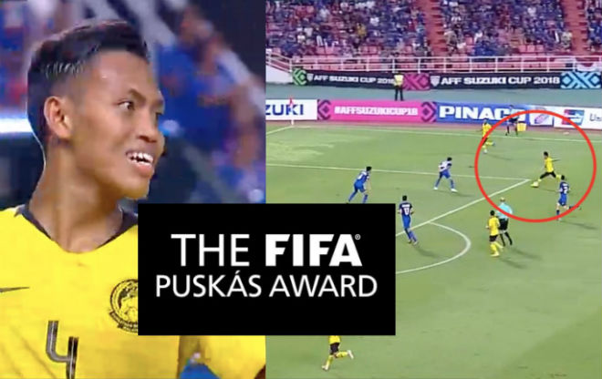 Superb AFF Cup Super Cup winner of # Best Goal of # 39; the world - 1