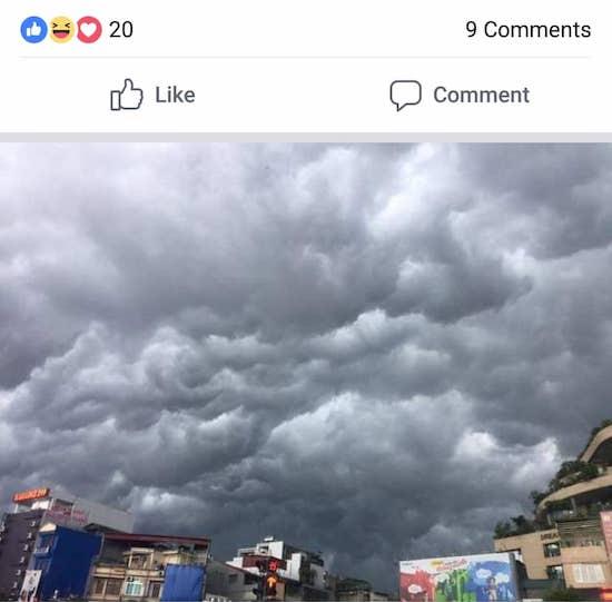 Dân mạng Sài Gòn đua nhau đăng ảnh mưa trắng trời ngày VN tranh vàng AFF Cup - 1