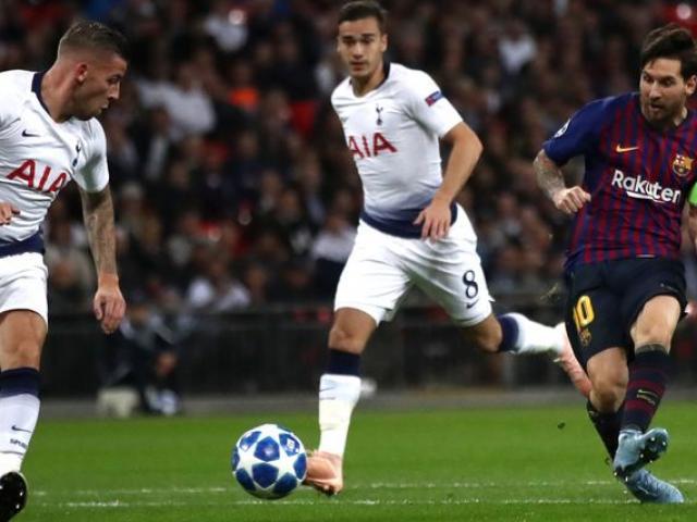 """Barcelona – Tottenham: Messi có nương chân với """"Gà trống""""?"""