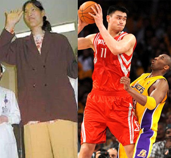 Trung Quốc phát hiện nữ VĐV 2m48: Yao Ming 2m29 phải ngước nhìn - 1