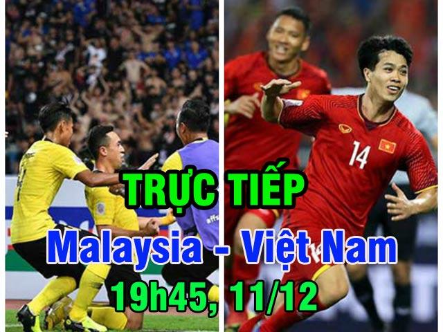 Trực tiếp bóng đá Malaysia - Việt Nam: Đội trưởng Malaysia truyền cảm hứng (Chung kết AFF Cup)