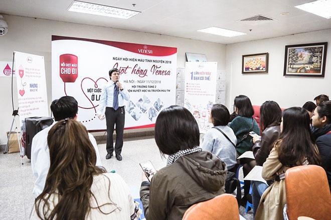 """Cán bộ công nhân viên công ty Venesa chung tay """"sưởi ấm"""" ngày đông  cùng chương trình hiến máu tình nguyện - 1"""