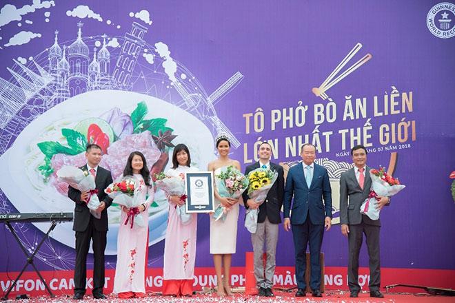 Chặng đường một năm VIFON đồng hành cùng Hoa Hậu Hoàn Vũ Việt Nam - 1