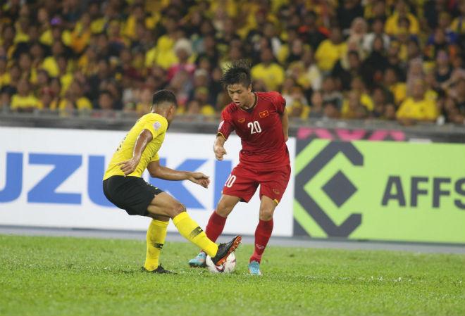 Thống kê bất ngờ chung kết AFF Cup: Việt Nam hòa Malaysia vì may mắn? - 1