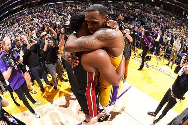 Tin thể thao HOT 12/12: Lebron James chia tay Wade đầy cảm động - 1