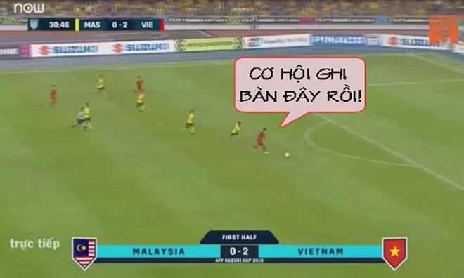 Hóa ra đây là lý do khiến Đức Chinh không ghi thêm bàn thắng vào lưới Malaysia - 1