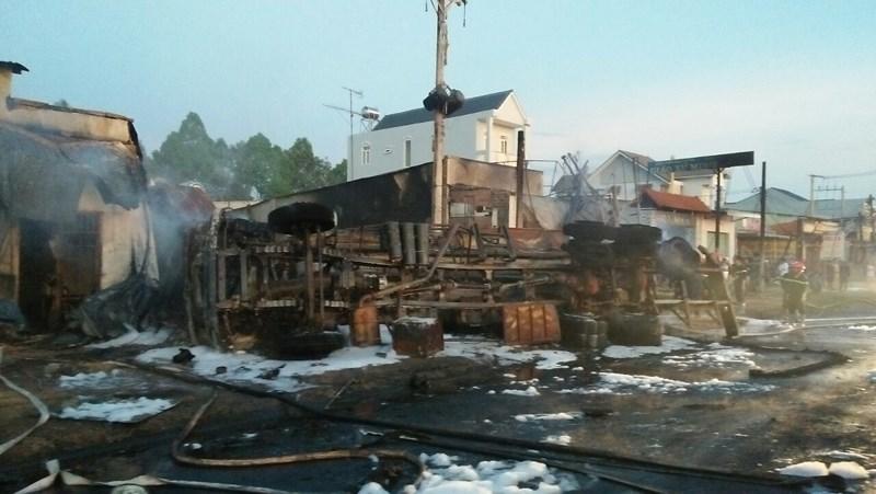 Kết luận vụ xe bồn chở xăng gây cháy làm 6 người tử vong ở Bình Phước - 1