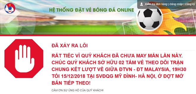 """Vì sao vé trận chung kết Việt Nam - Malaysia bán """"đầy"""" chợ đen với giá cắt cổ? - 1"""
