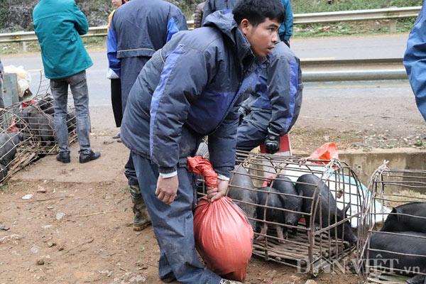 """Đặc sản lợn """"cắp nách"""" ở chợ phiên chợ vùng cao nơi núi rừng Sơn La - 8"""