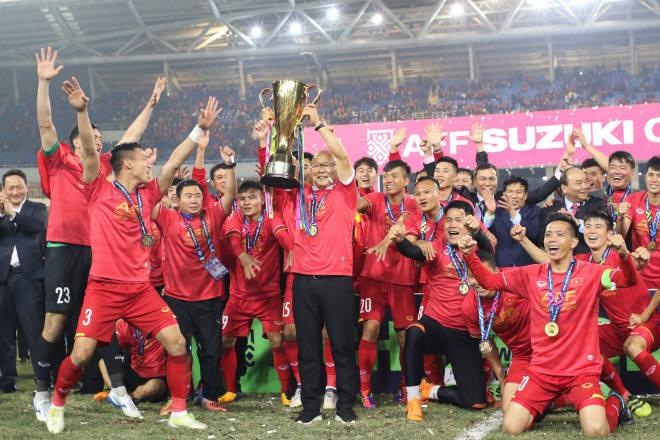 Image result for park hang seo và đội tuyển việt nam
