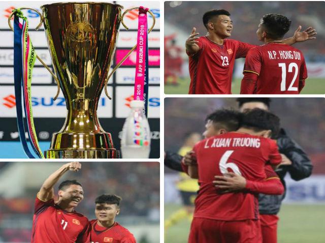 ĐT Việt Nam vô địch lịch sử: Xuân Trường òa khóc, tôn vinh thầy Park