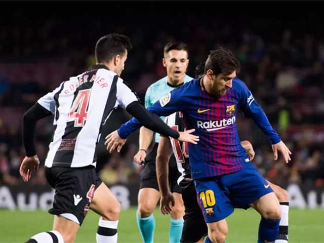 Levante – Barcelona: Đối thủ khó ngờ chờ Messi